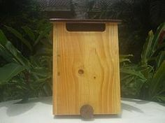 caixa de correio em madeira - holandesa