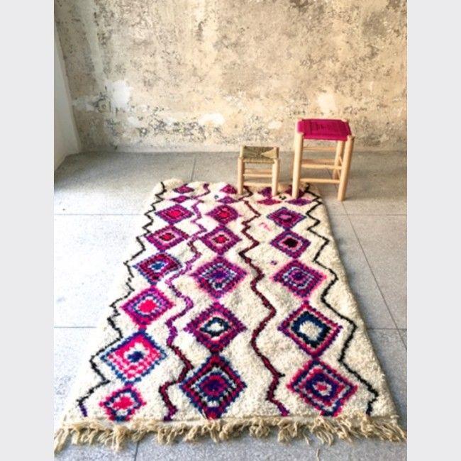 Tapis marocain pur laine