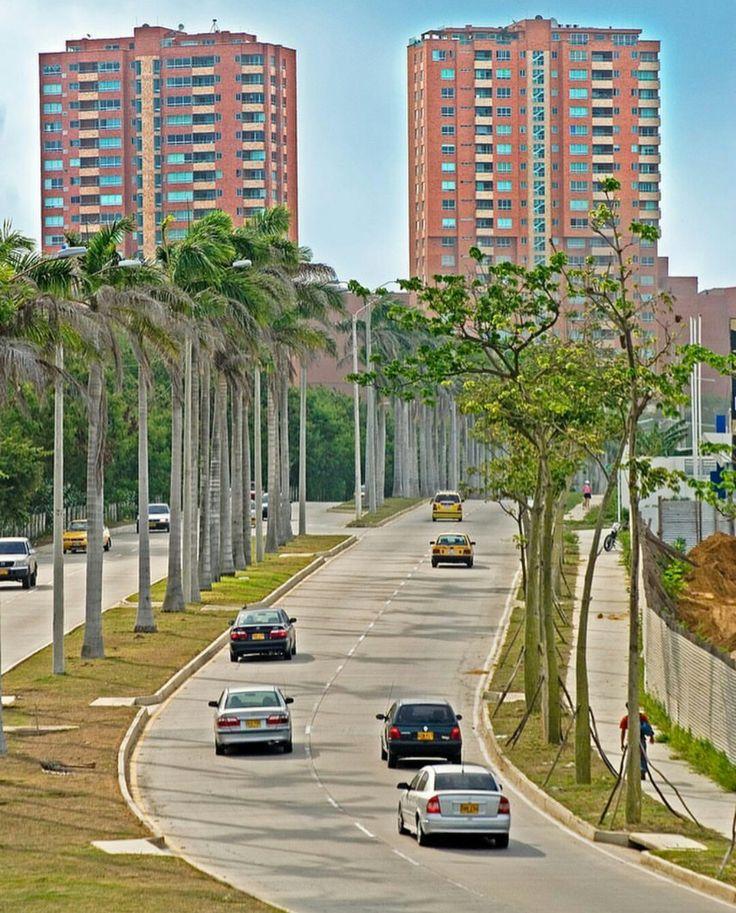 """Con aires de trópico la ciudad  crece majestuosa """"La Castellana """""""