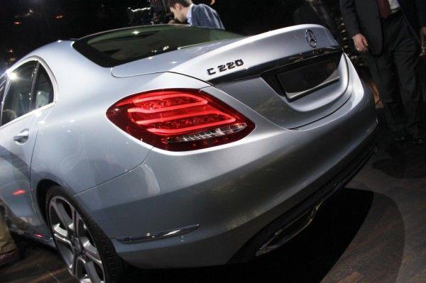 2015 Mercedes Benz C Class Estate rear angle 600x399 2015 Mercedes Benz C Class Estate