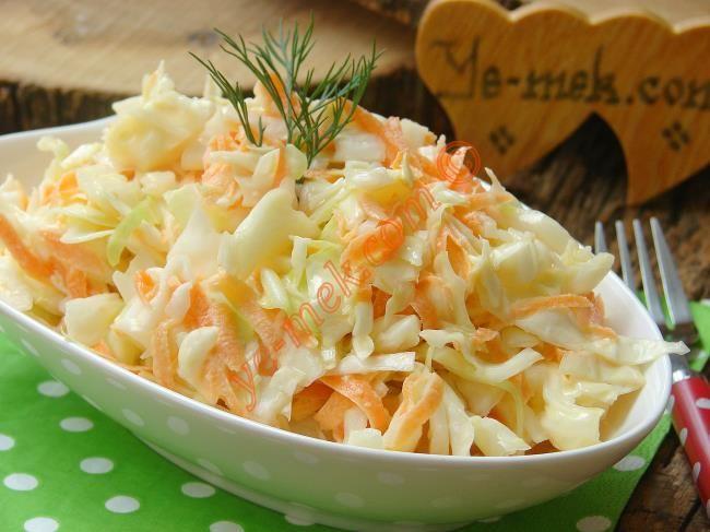 Coleslaw Salatası Resimli Tarifi - Yemek Tarifleri
