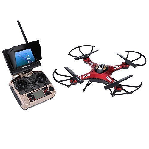 FPV Quadcopter Headless Mode One Key Return RTF Drone HD Camera Monitor LCD NEW #DroneCamera