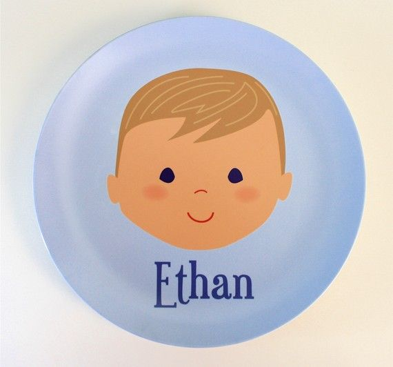 Customizable plates - Love that I can still pick blue for asian-shaped eyes! & 23 best Gifts For u0026 From Kids images on Pinterest | Dishes ...