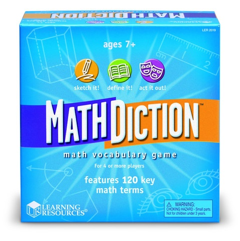 """""""I speak Math!""""  Awesome math vocab game for grades 2-5.  Never seen anything like this and it's so important for our kids to be able to """"speak Math"""""""