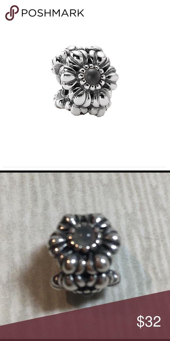 Pandora Birthday Blooms Silver Moonstone Charm Moonstone also represents June birthstone. Pandora Jewelry