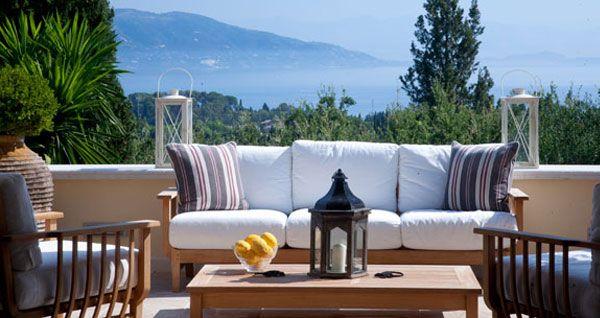 Corfu: Villa Sequoia