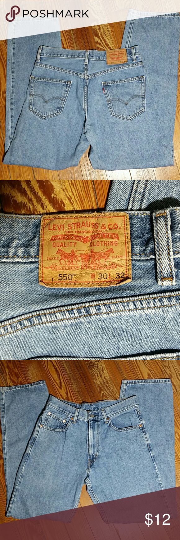 Levis 550 Relaxed Fit Jeans Levi's 550 Relaxed Fit Jeans Levi's Jeans Relaxed