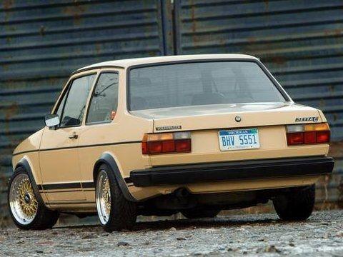 1982 Volkswagen Jetta 2-Door Rear