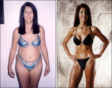 Fitness Success Stories -body transformation of female over 40 More