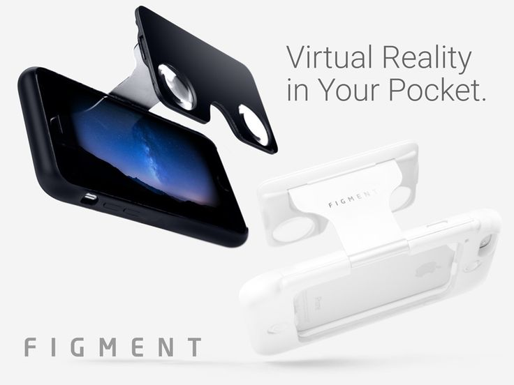 Figment VR: Virtual reality in your pocket - The world's first virtual reality viewer built into a sleek phone case