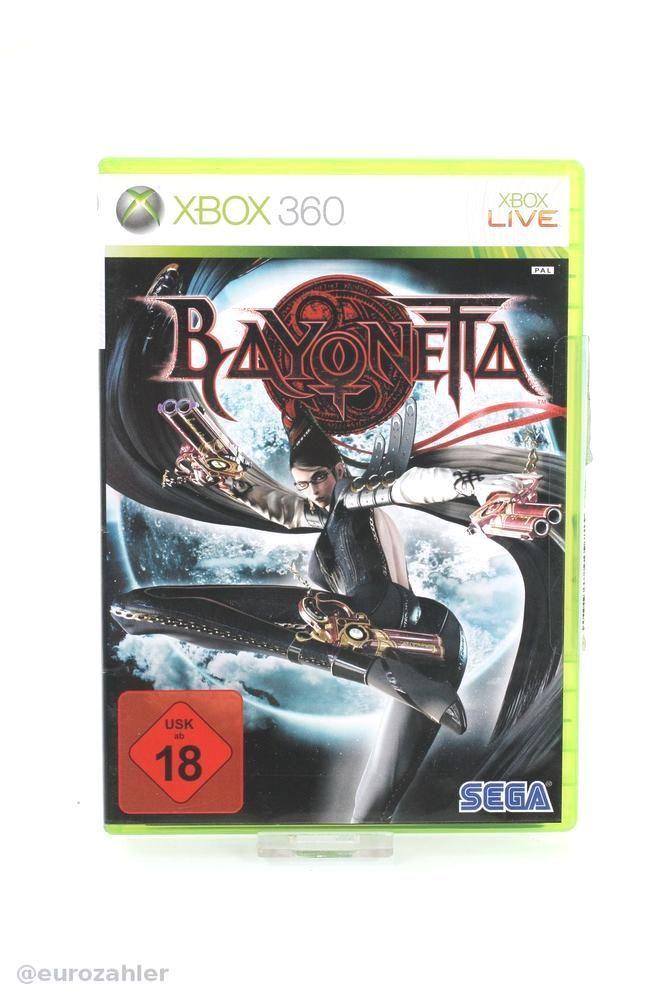 #sega bayonetta - xbox 360 game spiel usk 18 from $9.41