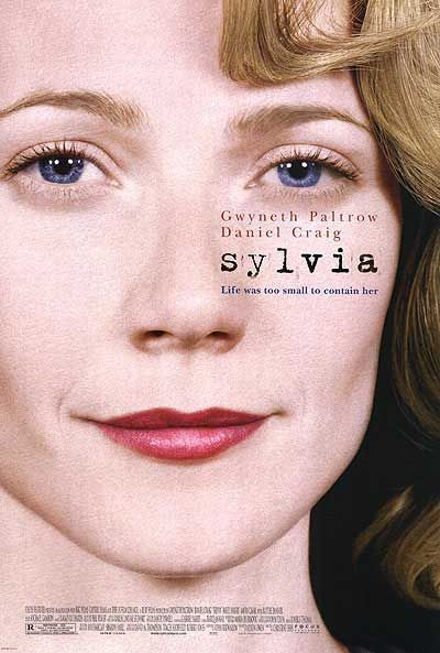 Sylvia - What I DON'T like about this poster- is that Sylvia had brown eyes.  For a person who loves Plath- this is obnoxious.