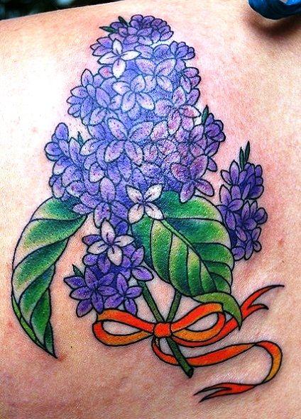 Lilac Branch Tattoo Lraber Info