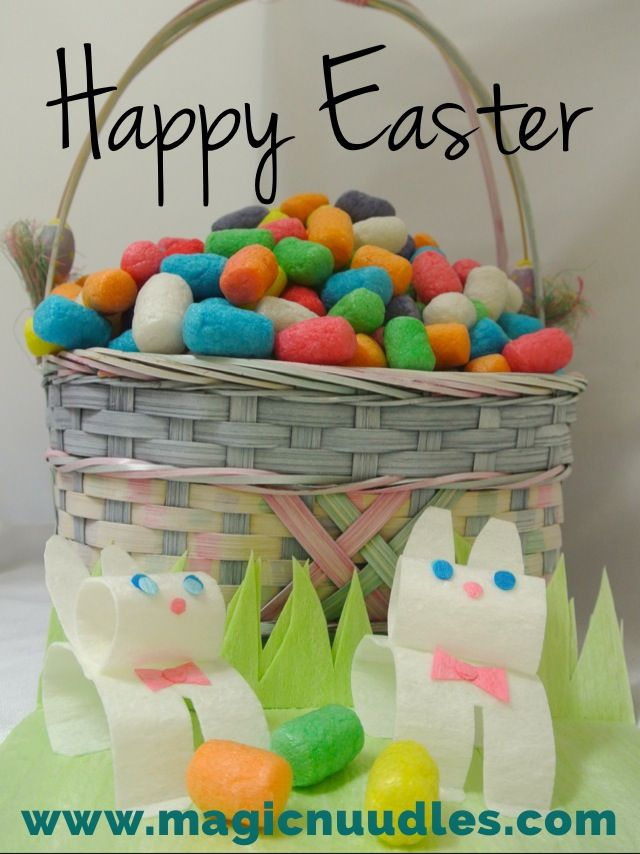 Happy Easter with Magic Nuudles and CornStruction Paper by Magic Nuudles!