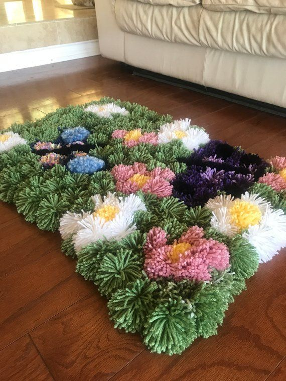 Bright Multi Colored Area Rugs That Add Interest Pattern Pom