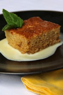 South African Malva pudding. With cream sauce or ice cream! So freaking good! Making this today! Adding it to the american holiday dessert list!