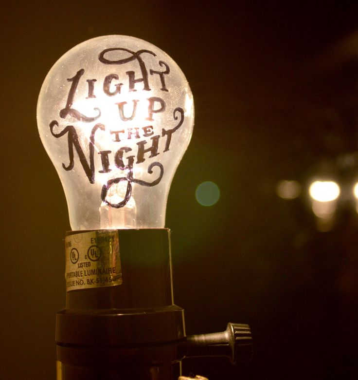 Light up the night. - Michael Crawford Check us out on A Certain Type for more hand lettering.