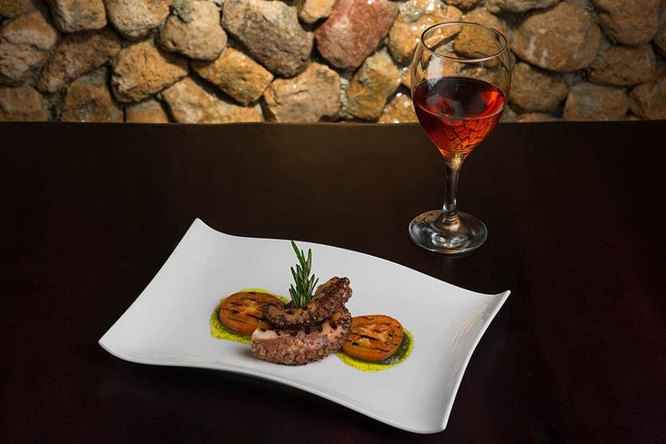Grilled Octopus @ Anclar