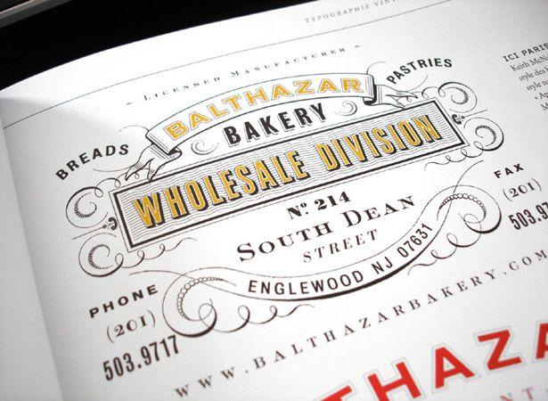 Vintage typography: Vintage Types, Branding Design, Vintage Typography, Vintage Wardrobe, Types Design, Graphics Design, Graphics Projects, Balthazar Bakeries, Vintage Inspiration