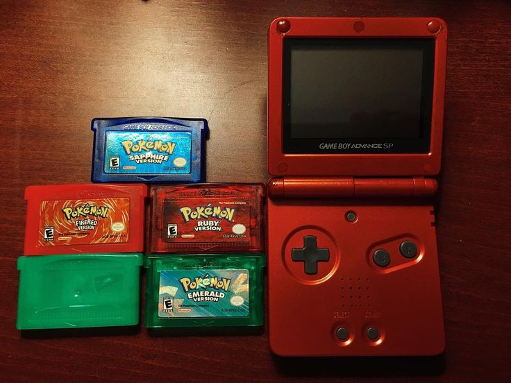 Shared by theblisker #gameboy #microhobbit (o) http://ift.tt/1LlOrhC Gameboy SP with pokemon games!!  but I dont remember what happened to my Leaf Green!  #mustget #newone #nintendo  #sp #pokemon #leafgreen #firered #ruby #sapphire #emerald #red