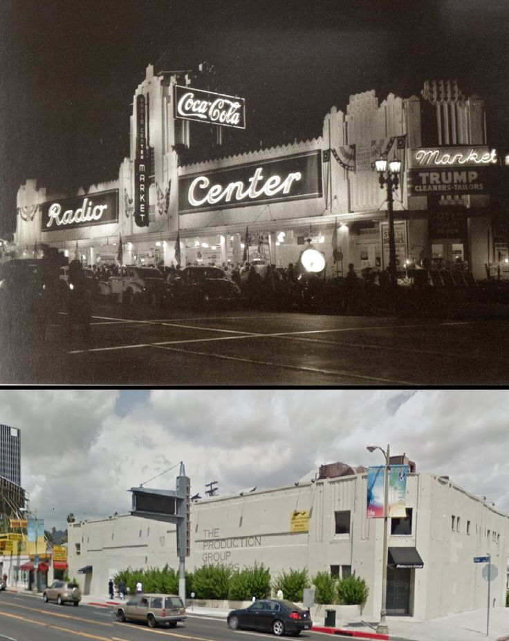 Radio Center Market on Vine not to be confused with ''Hollywood Ranch Market'' a block south of here #hollywood #vintage #market #vine #losangeles #tinseltown