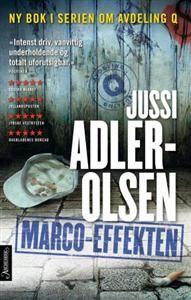 http://www.adlibris.com/no/product.aspx?isbn=8203219012 | Tittel: Marco-effekten - Forfatter: Jussi Adler-Olsen - ISBN: 8203219012 - Vår pris: 332,-