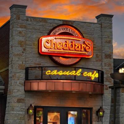 Cheddars! Love this place <3 my new favorite place to eat!!!