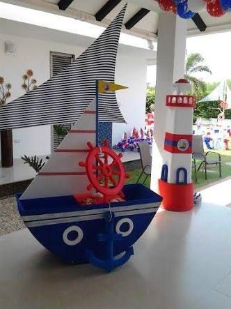 Resultado de imagen para decoracion nautica para fiestas