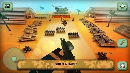 Best shooting games of 2017! Crafting and building… and tanks! Call of Craft: Blocky Warfare!