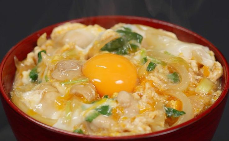 Oyakodon (Chicken and Egg Bowl Recipe) – Cooking with Dog