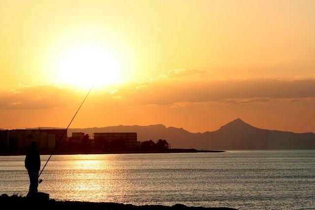 Sunset in Denia, Spain