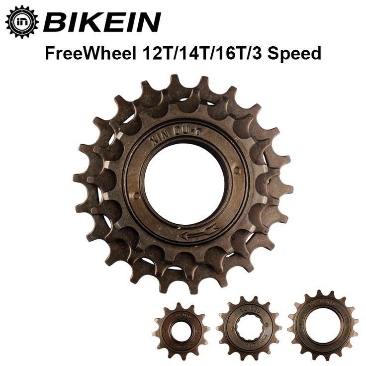 BIKEIN-Fiets Single Speed 12 T/14 T/16 T Freewheel 3 Speed 16 T/19 T/22 T Vliegwiel Tandwiel Gear Metal 34mm Fietsen BMX Fietsonderdelen