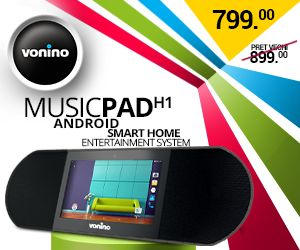 MusicPAD H1 - VONINO - Inspired by Technology | Tablete PC * TV Box * Media Player * GPS *... MusicPad, Streaming music, Radio , Anghami VONINO.RO