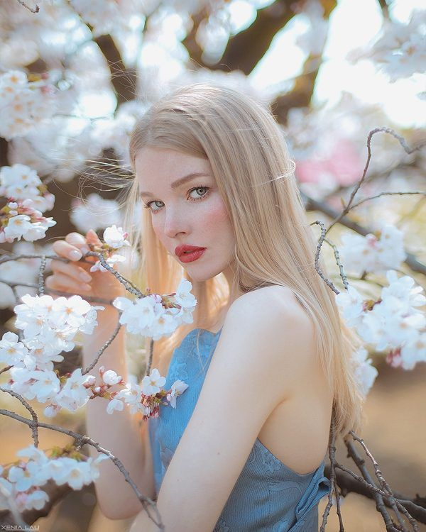 Spring In Tokyo Photography By Xenia Lau Ego Alterego Tokyo Photography Portrait Digital Art Girl
