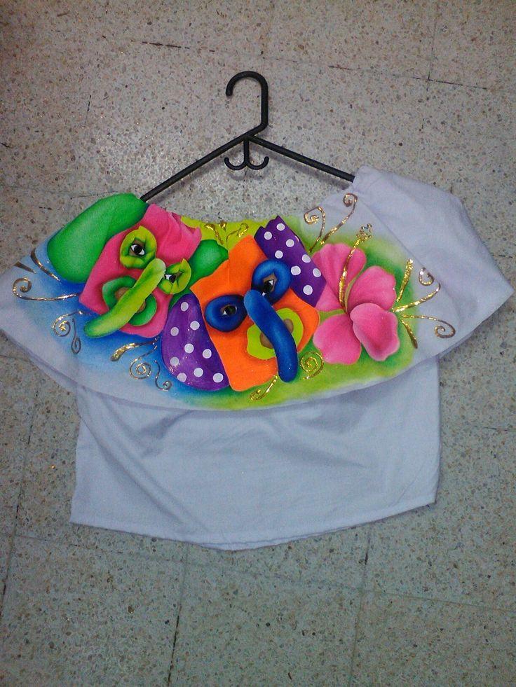 Blusa carnavalera