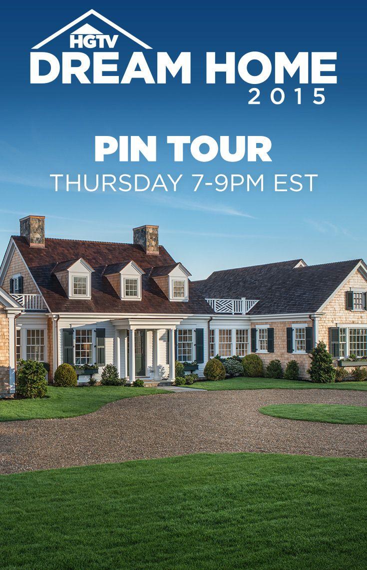 Step inside #HGTVDreamHome 2015!  Join the HGTV Dream Home Design Team for a LIVE pinning event...this Thursday from 7-9pm ET on Pinterest-->  https://www.pinterest.com/hgtv/hgtv-dream-home-2015/