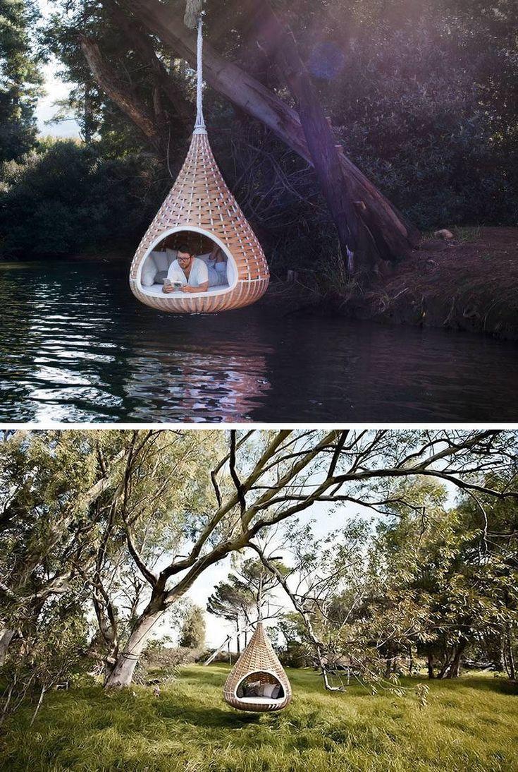 Garden Furniture Apple Pod rattan pod hanging garden chair from john lewis