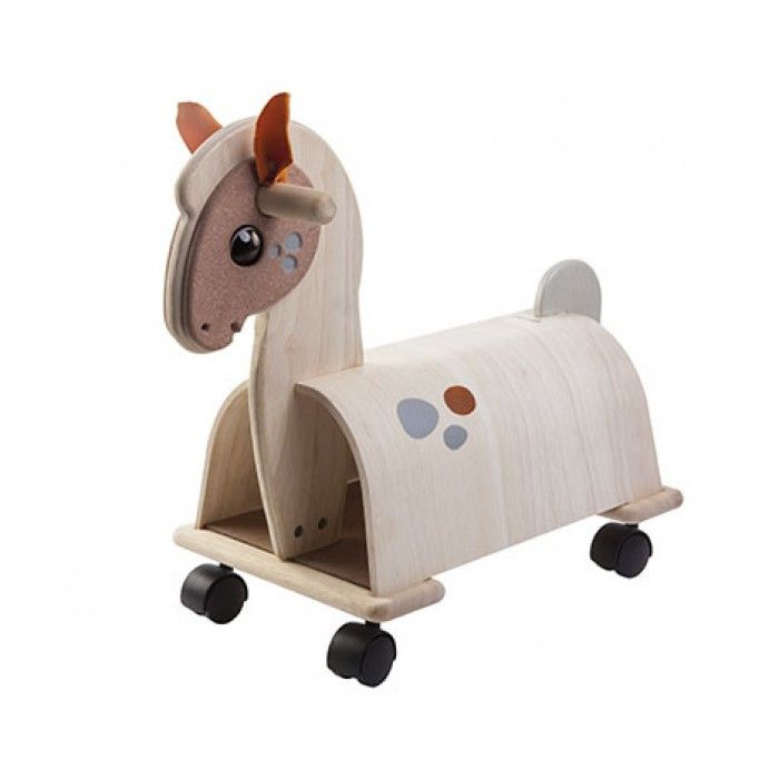 Plan Toys Activity Ride-On Pony & Reviews | Wayfair
