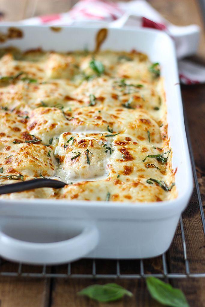 Creamy spinach ricotta pasta recipe