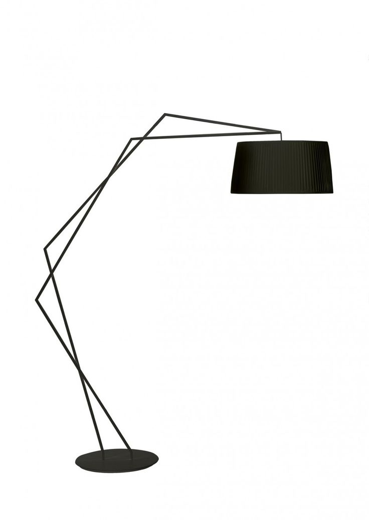 Minimalist House // Okha black modern table lamp