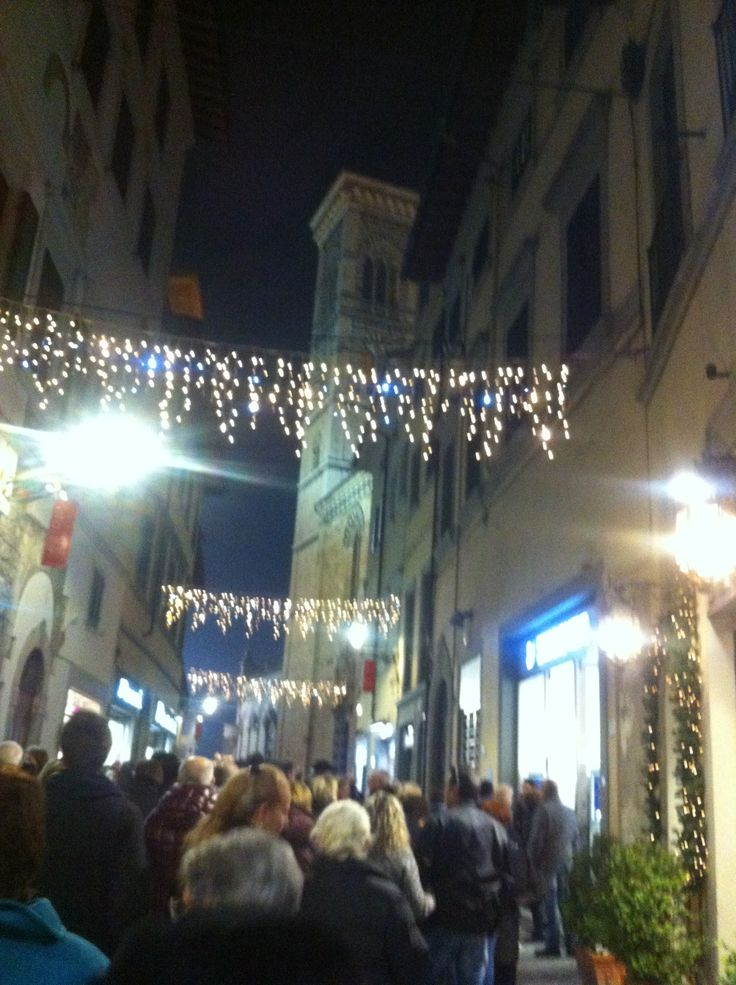 #Christmastime in #Prato #Tuscany