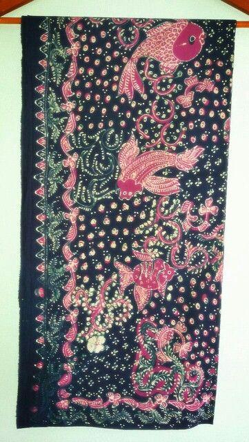 Batik lasem motif ikan