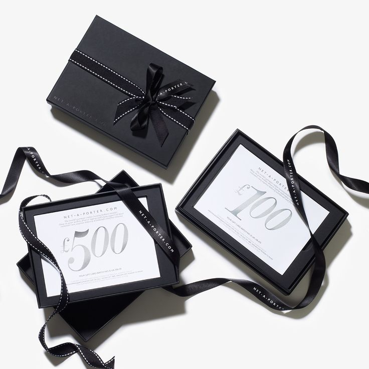 The #NETAPORTER gift card comes in our signature black box, while our virtual gift card is delivered by email – perfect if you've left it to the last minute! #AllForYou