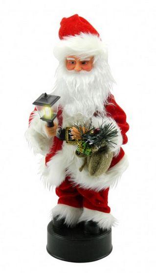 Papa Noel musical y con luces $30000 41.5 x 17 cms