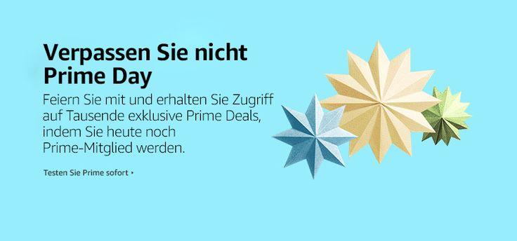 #amazon #onlinewerbung Nicht vergessen!!!! Am Dienstag den 12. Juli bedankt sich Amazon bei seinen Prime-Mitgliedern mit dem zweiten Prime Day Deal-Event. Ab Mitternacht können Prime-Mitglieder in Deutschland Angebote kaufen. Neue Deals starten alle 5 Minuten – ab 6 Uhr insgesamt Hunderte pro Stunde. Amazon Prime ist unser Premium-Programm, das Mitgliedern eine schnelle Lieferung, unbegrenztes Streaming tausender Filme und TV-Folgen mit Prime Video, sicheren Fotospeicher und vieles mehr bi