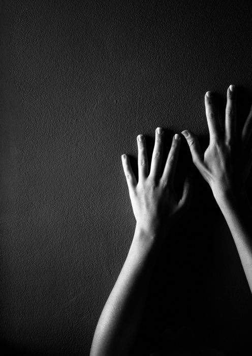 Just painted my daughter's wall black...going to take a picture of her arms like this for fun!
