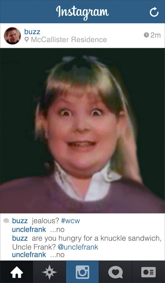 "If Buzz From ""Home Alone"" Had an Instagram"