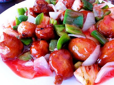 Receita do frango Agridoce China In Box
