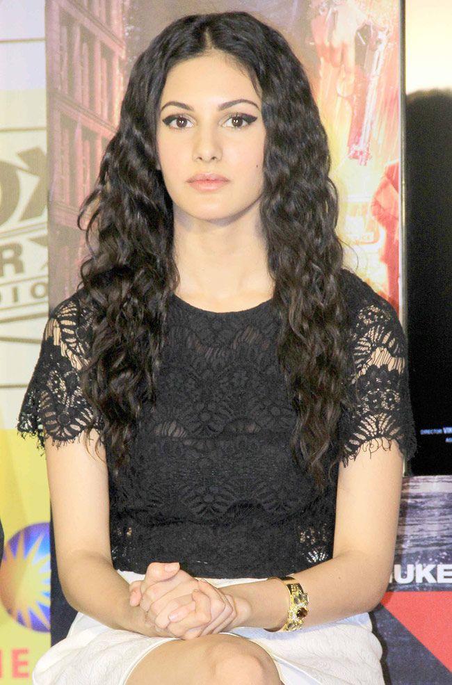 Amyra Dastur promoting Mr. X.