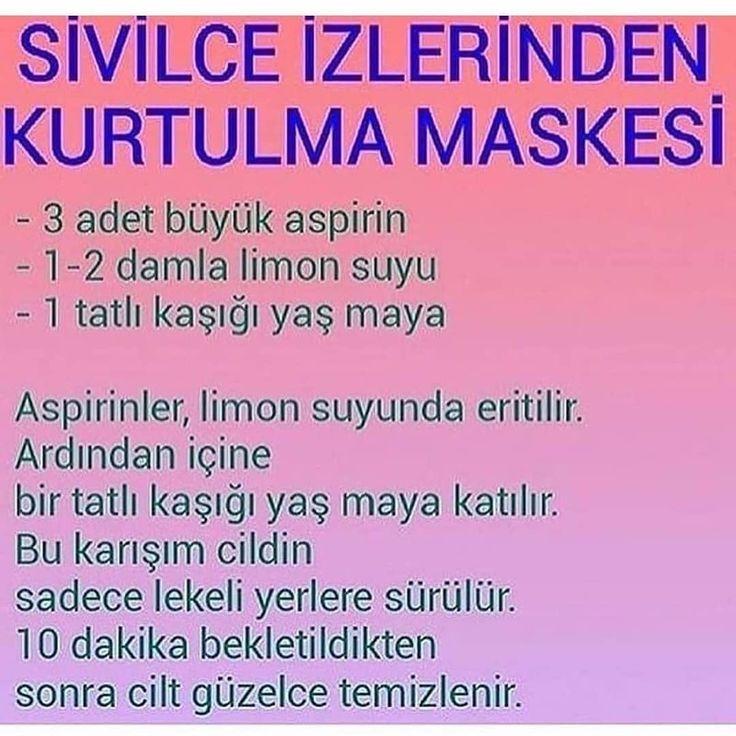 Sivilce izleri için yaş maya maskesi – Pınar Sözen